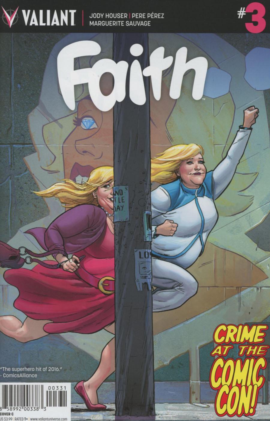 Faith (Valiant Entertainment) Vol 2 #3 Cover C Variant Adam Gorham Cover