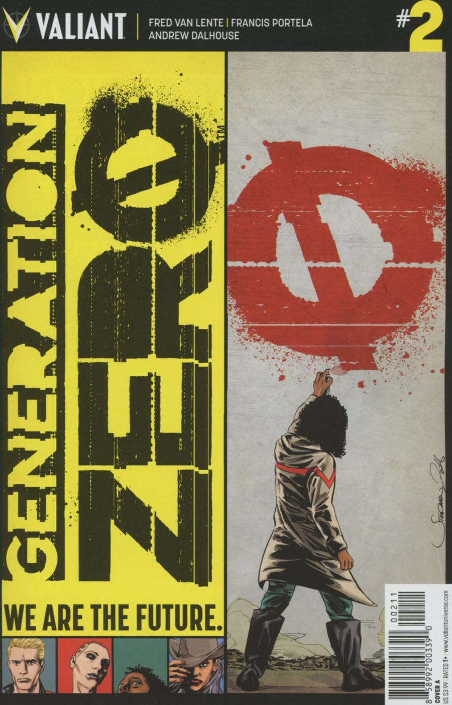Generation Zero #2 Cover A Regular Stephen Mooney Cover
