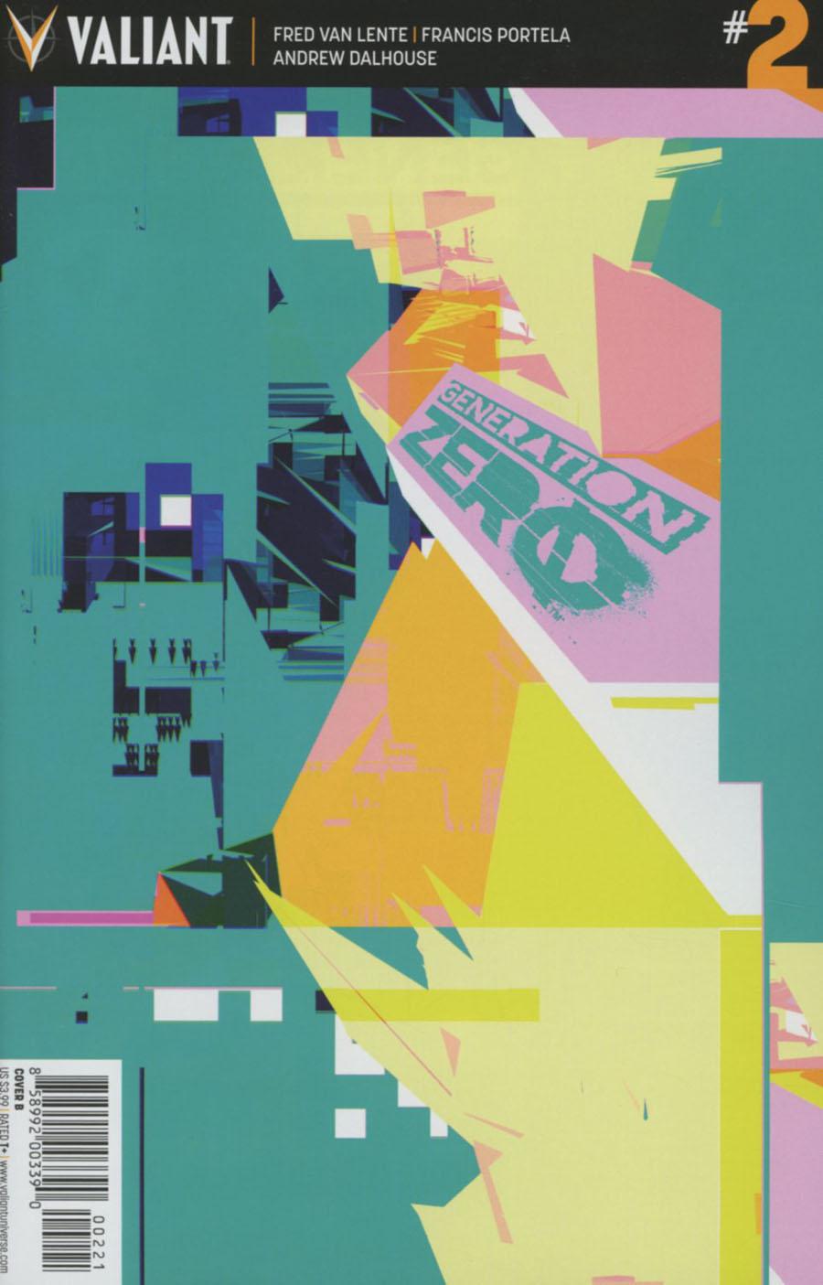 Generation Zero #2 Cover B Variant Tom Muller Cover