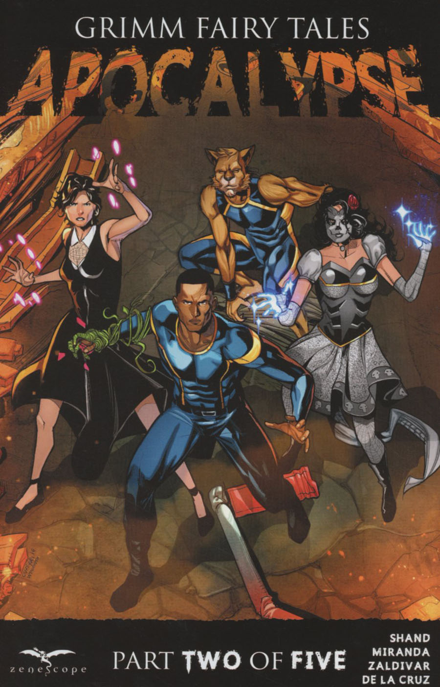 Grimm Fairy Tales Presents Apocalypse #2 Cover A Salvatore Cuffari