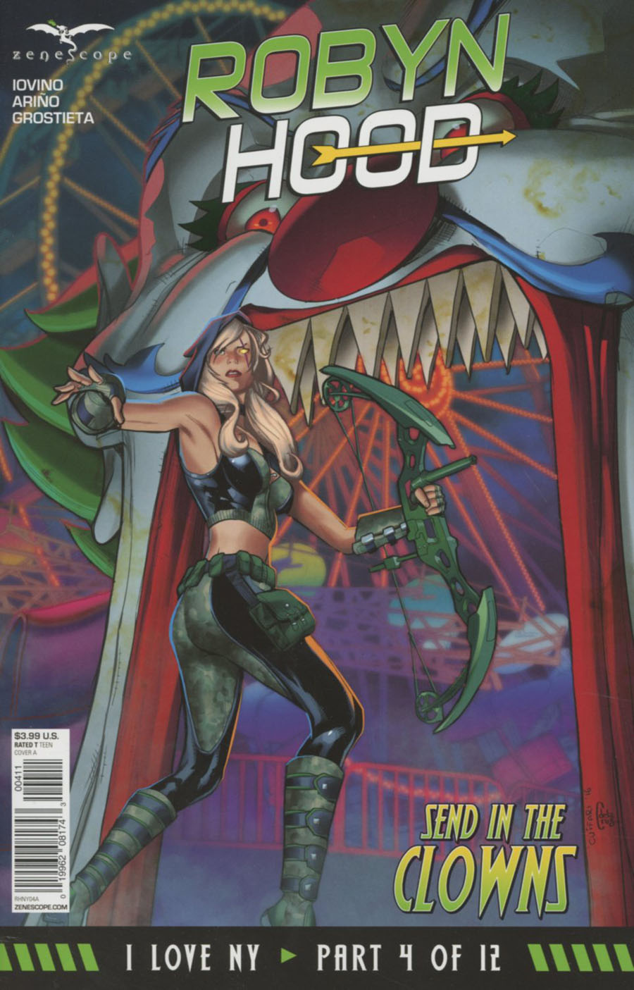 Grimm Fairy Tales Presents Robyn Hood I Love NY #4 Cover A Salvatore Cuffari