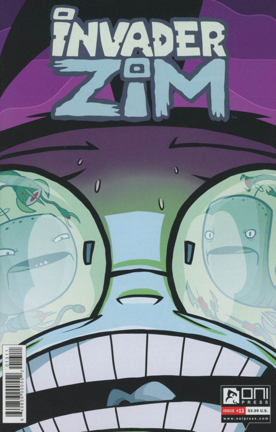 Invader Zim #13 Cover A Regular Warren Wucinich Cover