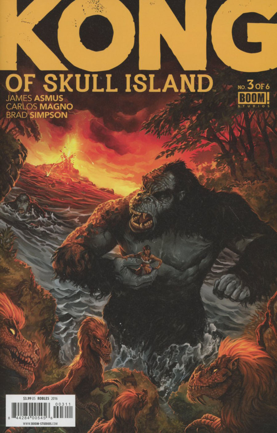 Kong Of Skull Island #3 Cover A Regular Nick Robles Cover