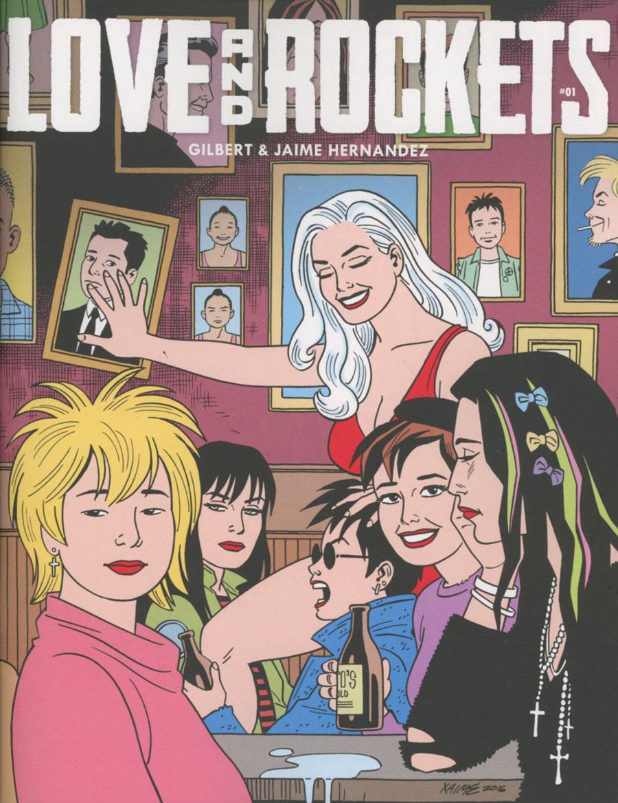 Love And Rockets Vol 4 #1 Cover A Regular Jaime Hernandez Cover