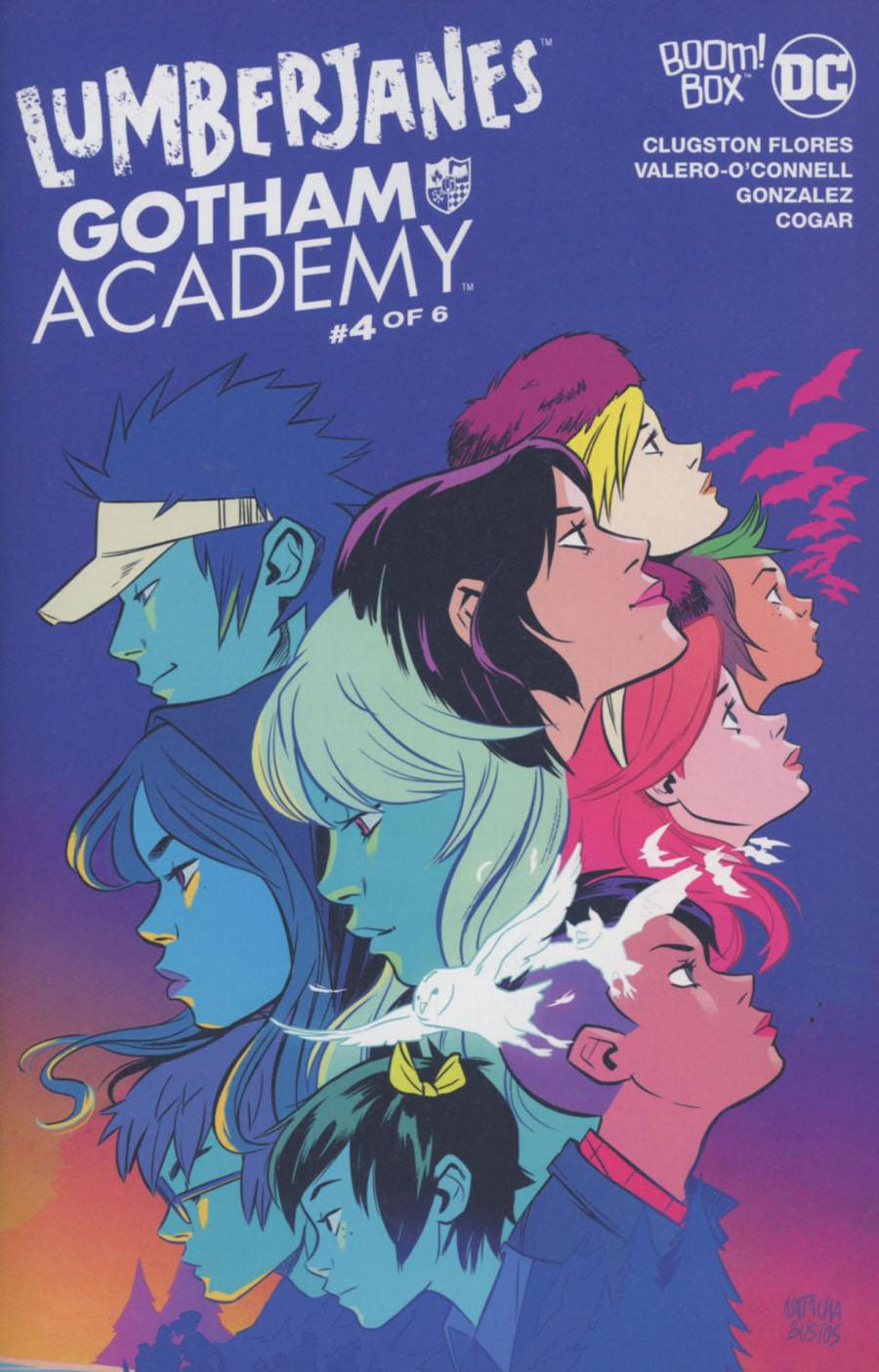 Lumberjanes Gotham Academy #4 Cover A Regular Natacha Bustos Cover