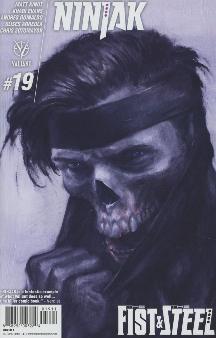 Ninjak Vol 3 #19 Cover A Regular Mike Choi Cover
