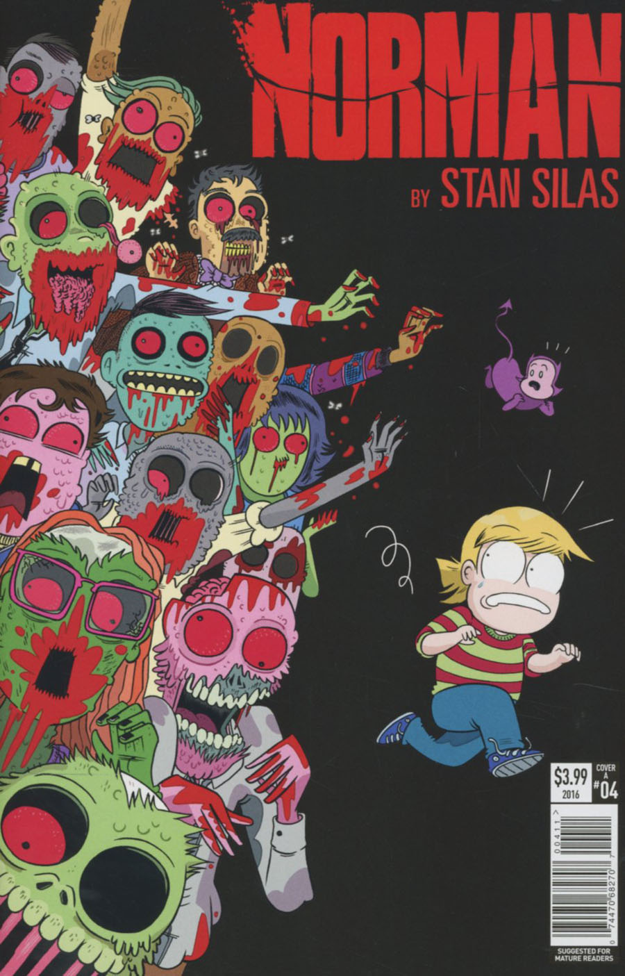 Norman #4 Cover A Regular Marc Ellerby Cover
