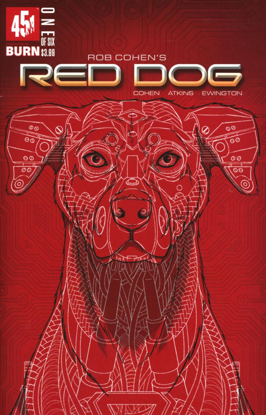Red Dog #1 Cover B Variant Tom Velez Cover