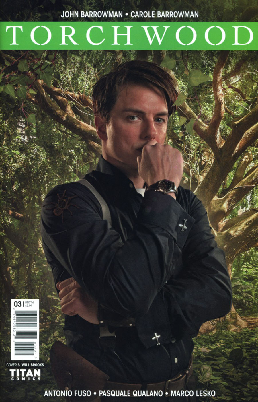 Torchwood Vol 2 #3 Cover B Variant Photo Cover