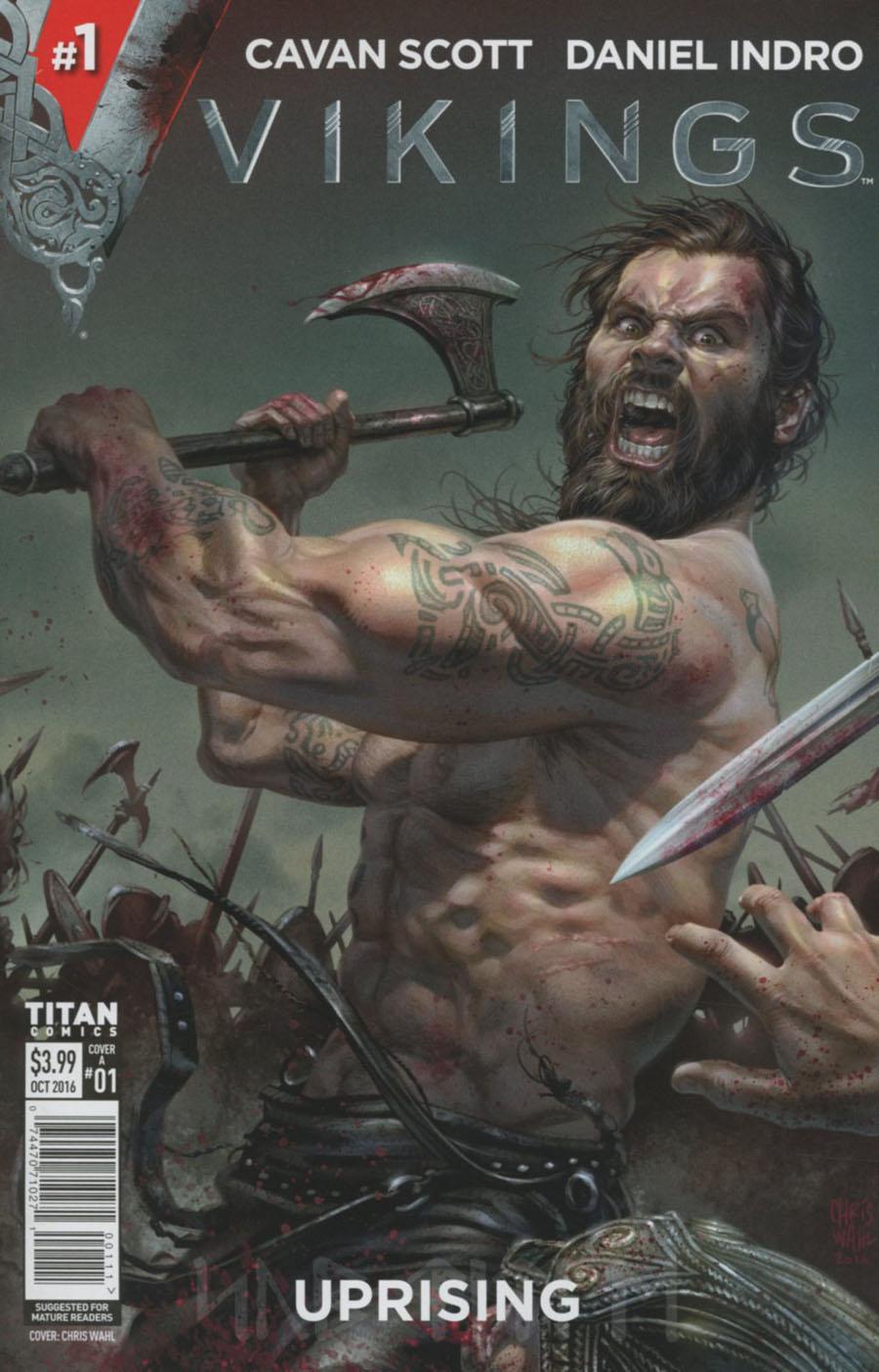 Vikings Uprising #1 Cover A Regular Chris Wahl Cover