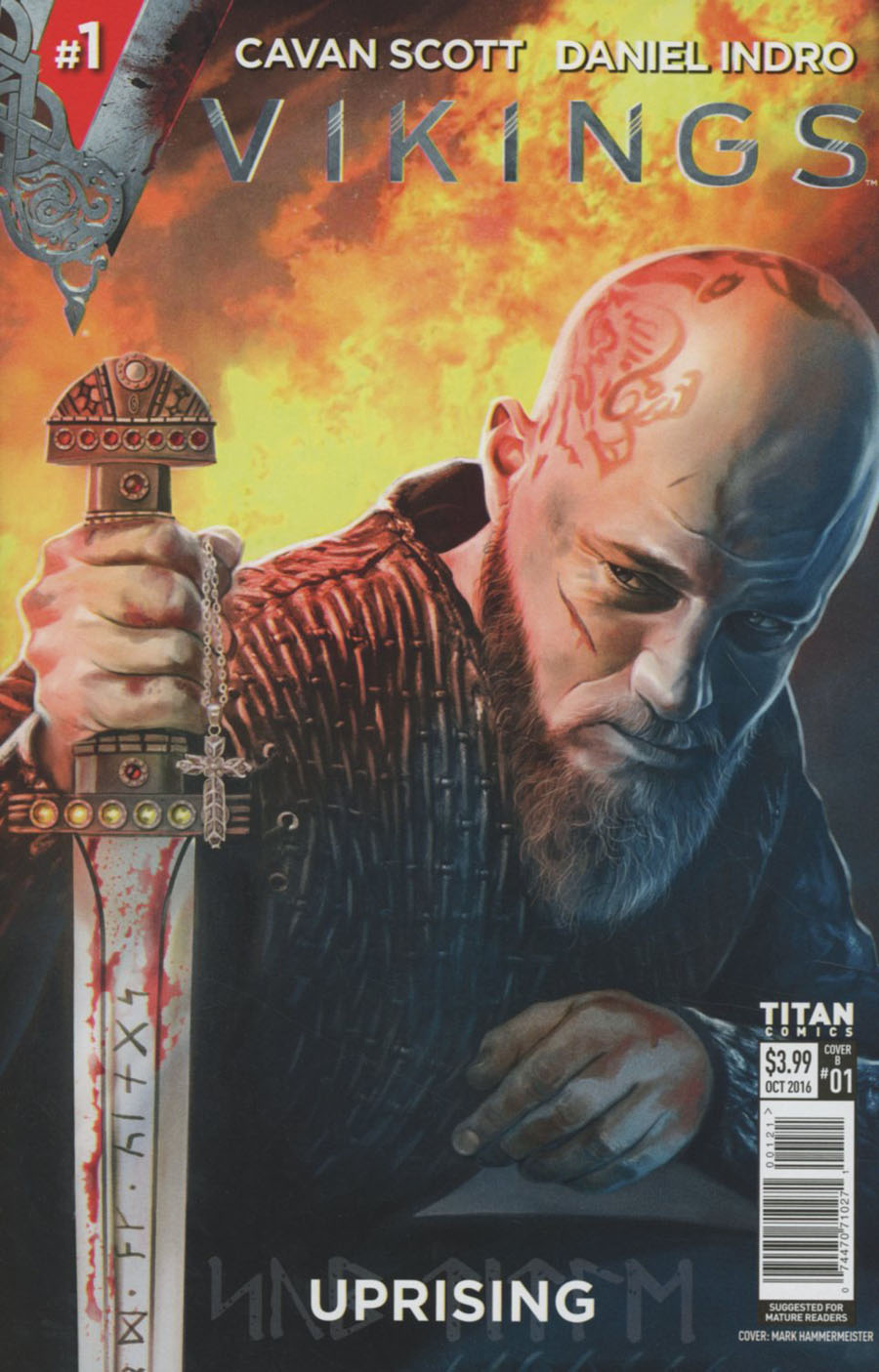 Vikings Uprising #1 Cover B Variant Mark Hammermeister Cover