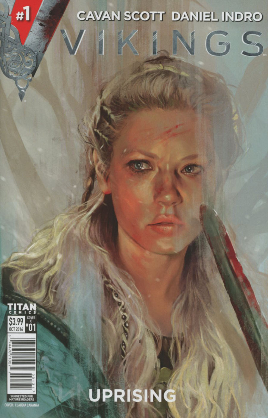 Vikings Uprising #1 Cover C Variant Claudia Caranfa Cover