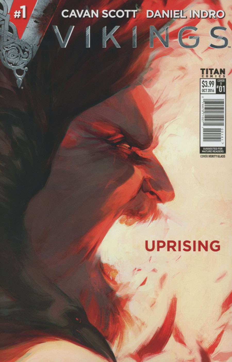 Vikings Uprising #1 Cover D Variant Verity Glass Cover