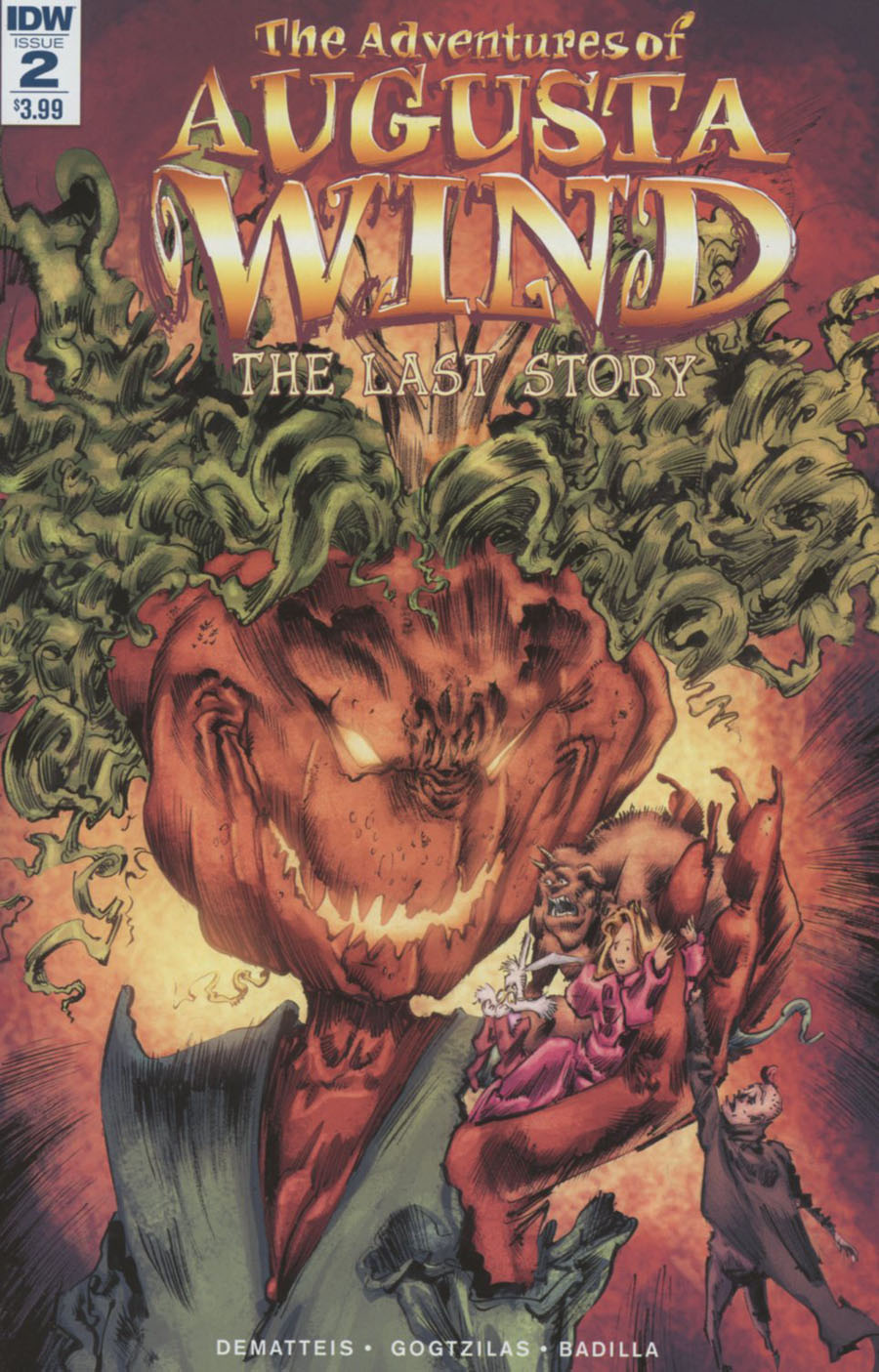 Adventures Of Augusta Wind Vol 2 Last Story #2 Cover A Regular Vassilis Gogtzilas Cover