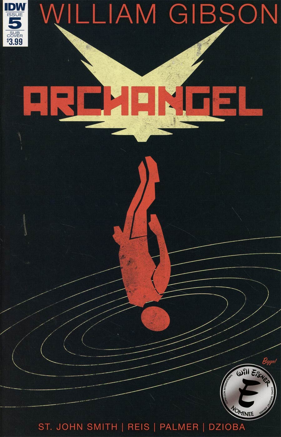 Archangel (IDW) #5 Cover C Variant James Biggie Subscription Cover