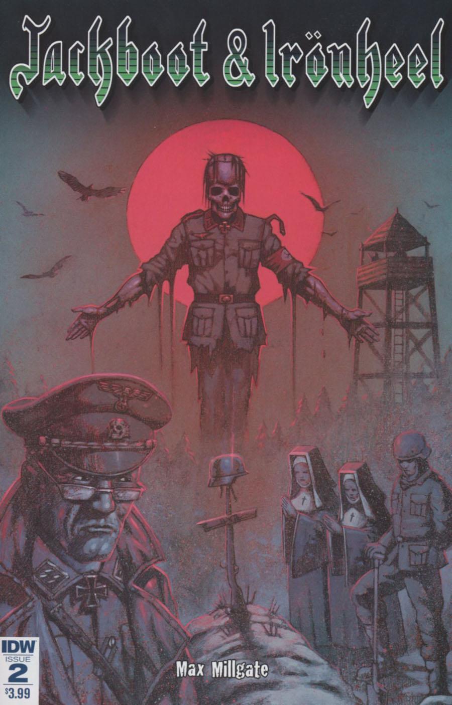 Jackboot & Ironheel #2 Cover A Regular Max Millgate Cover