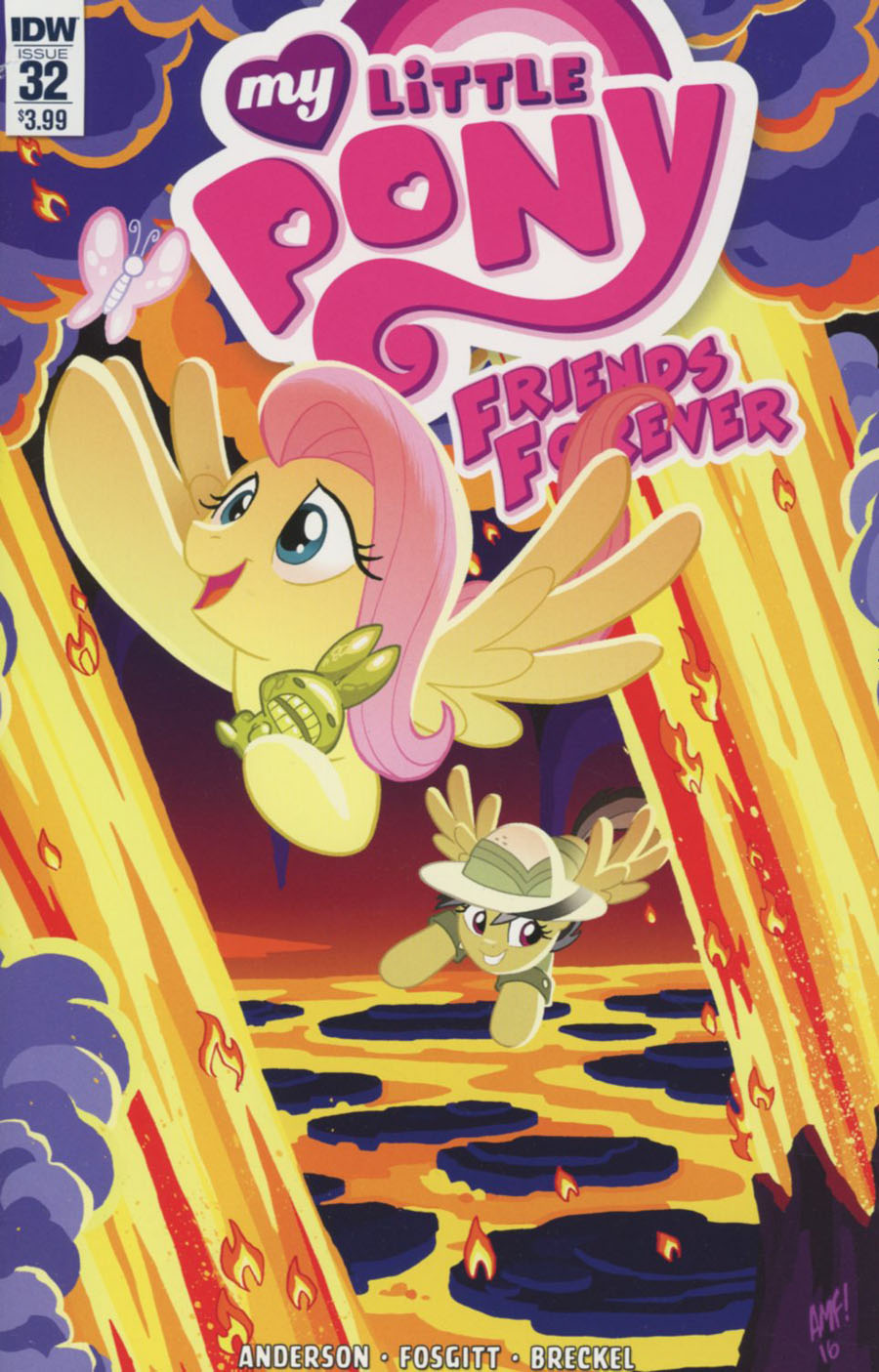 My Little Pony Friends Forever #32 Cover A Regular Tony Fleecs Cover