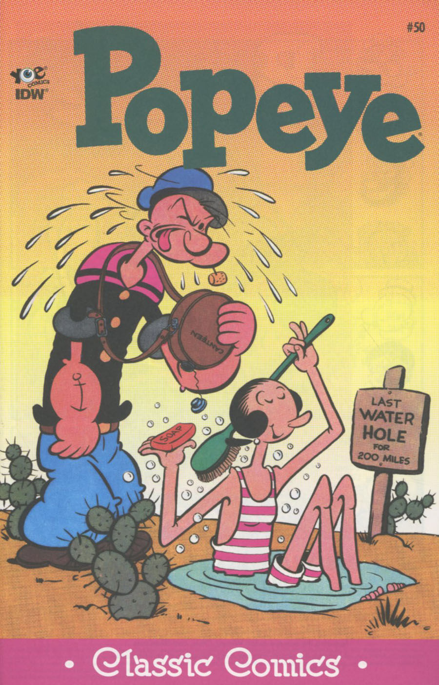 Classic Popeye #50 Cover A Regular Bud Sagendorf Cover