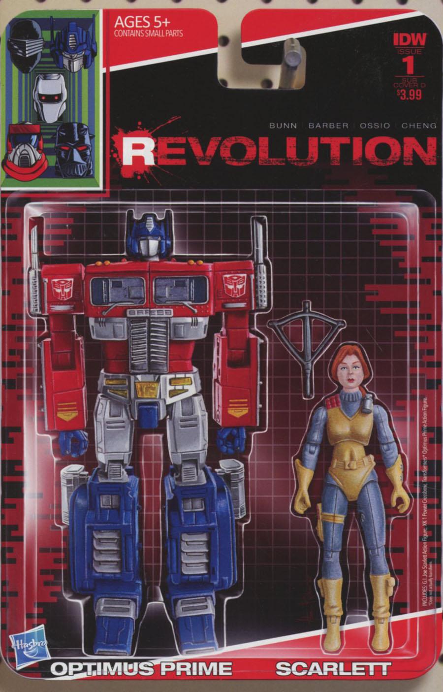 Revolution #1 Cover E Variant Adam Riches Subscription Cover