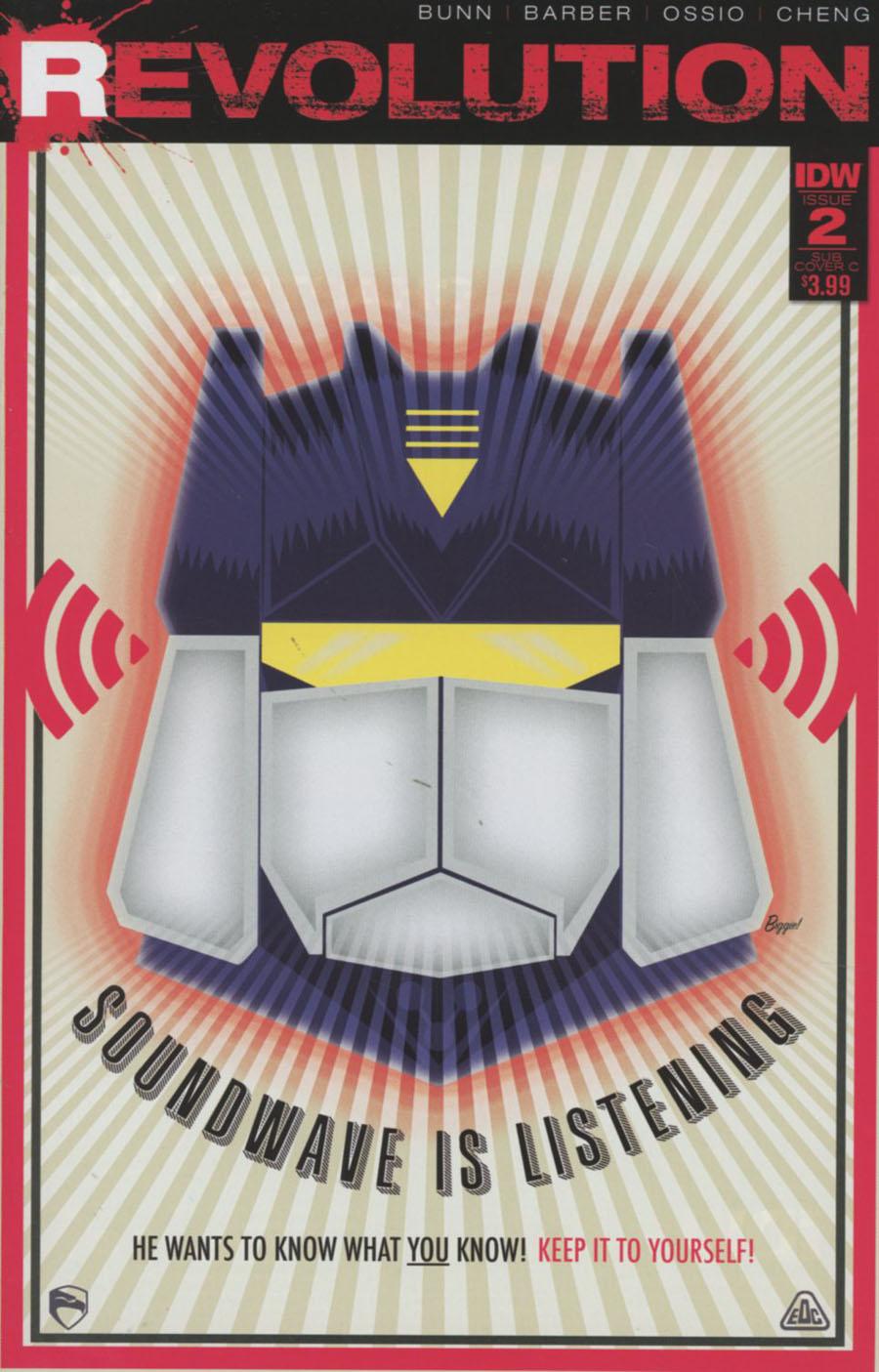 Revolution #2 Cover D Variant James Biggie Subscription Cover