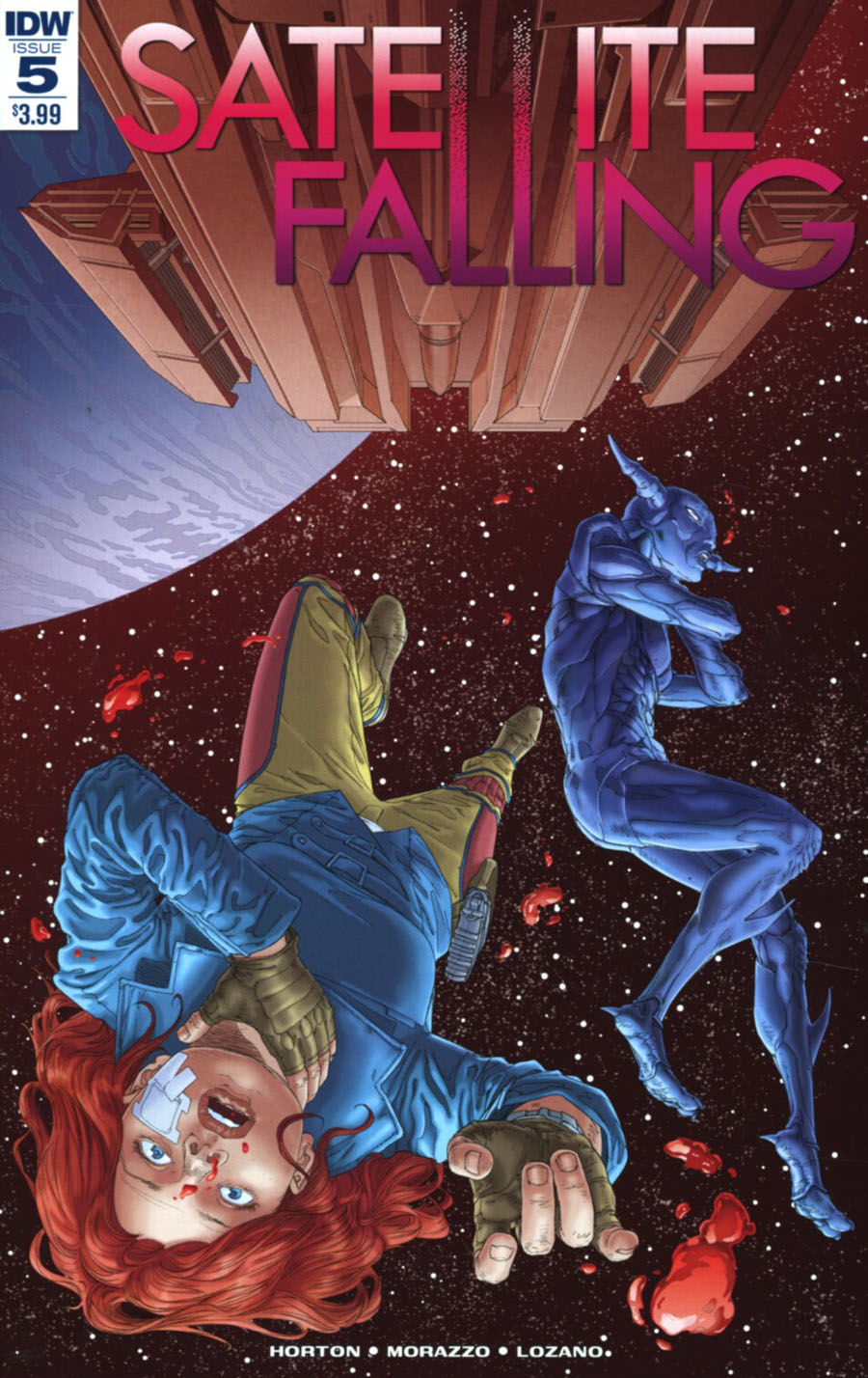 Satellite Falling #5 Cover A Regular Stephen Thompson Cover