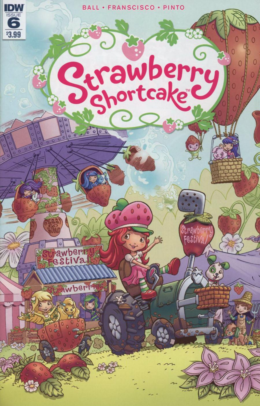 Strawberry Shortcake Vol 3 #6 Cover A Regular Jorge Pacheco Cover