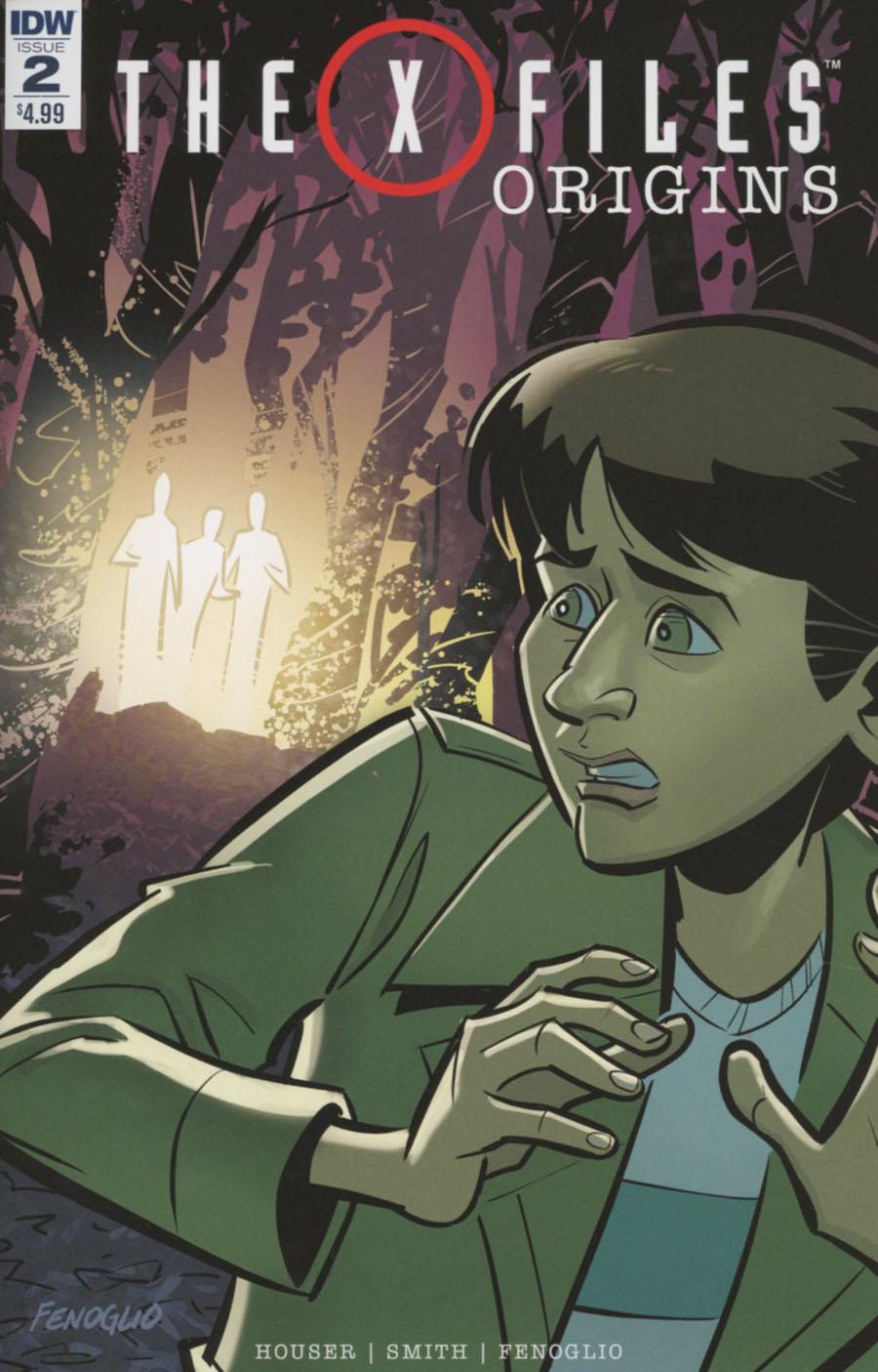 X-Files Origins #2 Cover A Regular Chris Fenoglio & Corin Howell Cover