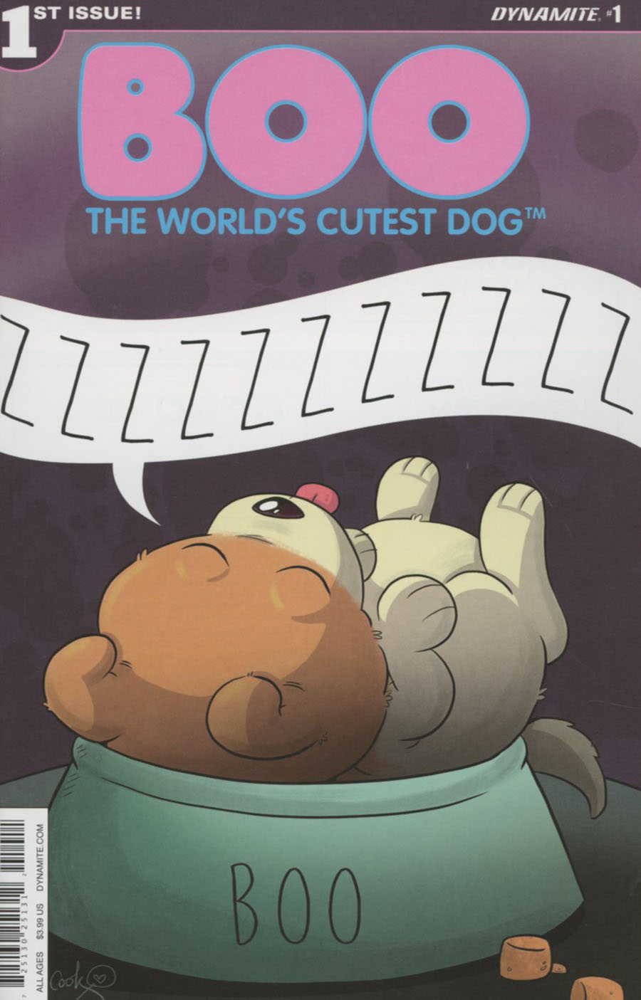 Boo Worlds Cutest Dog #1 Cover A Regular Katie Cook Cover