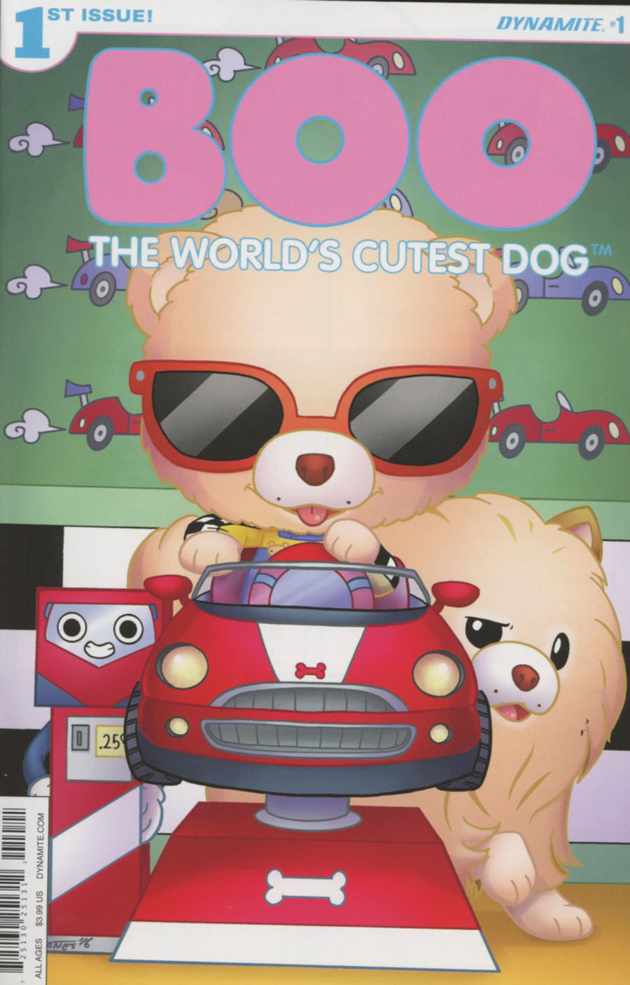 Boo Worlds Cutest Dog #1 Cover B Variant Agnes Garbowska Cover