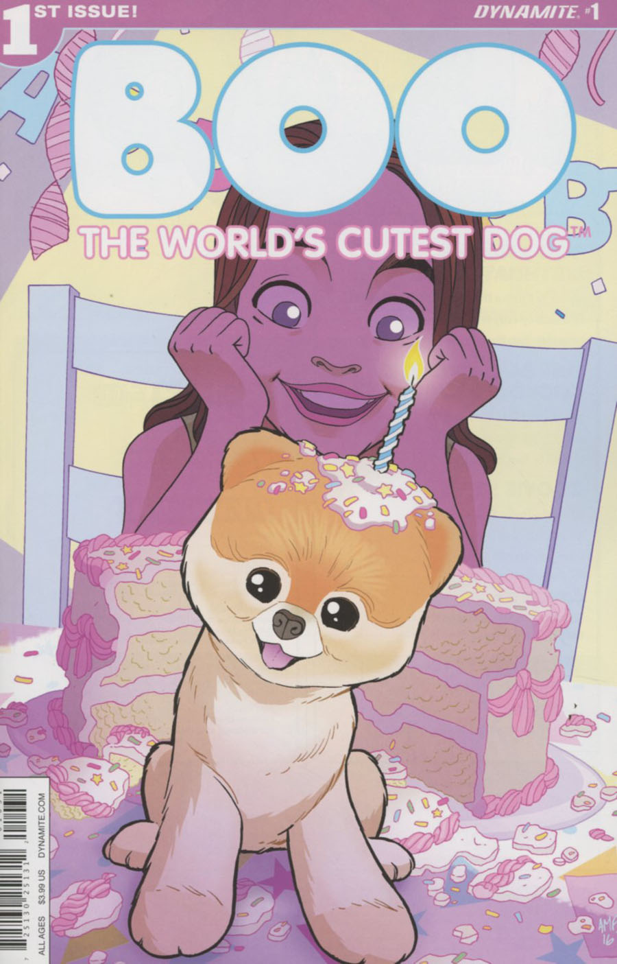 Boo Worlds Cutest Dog #1 Cover C Variant Tony Fleecs Cover
