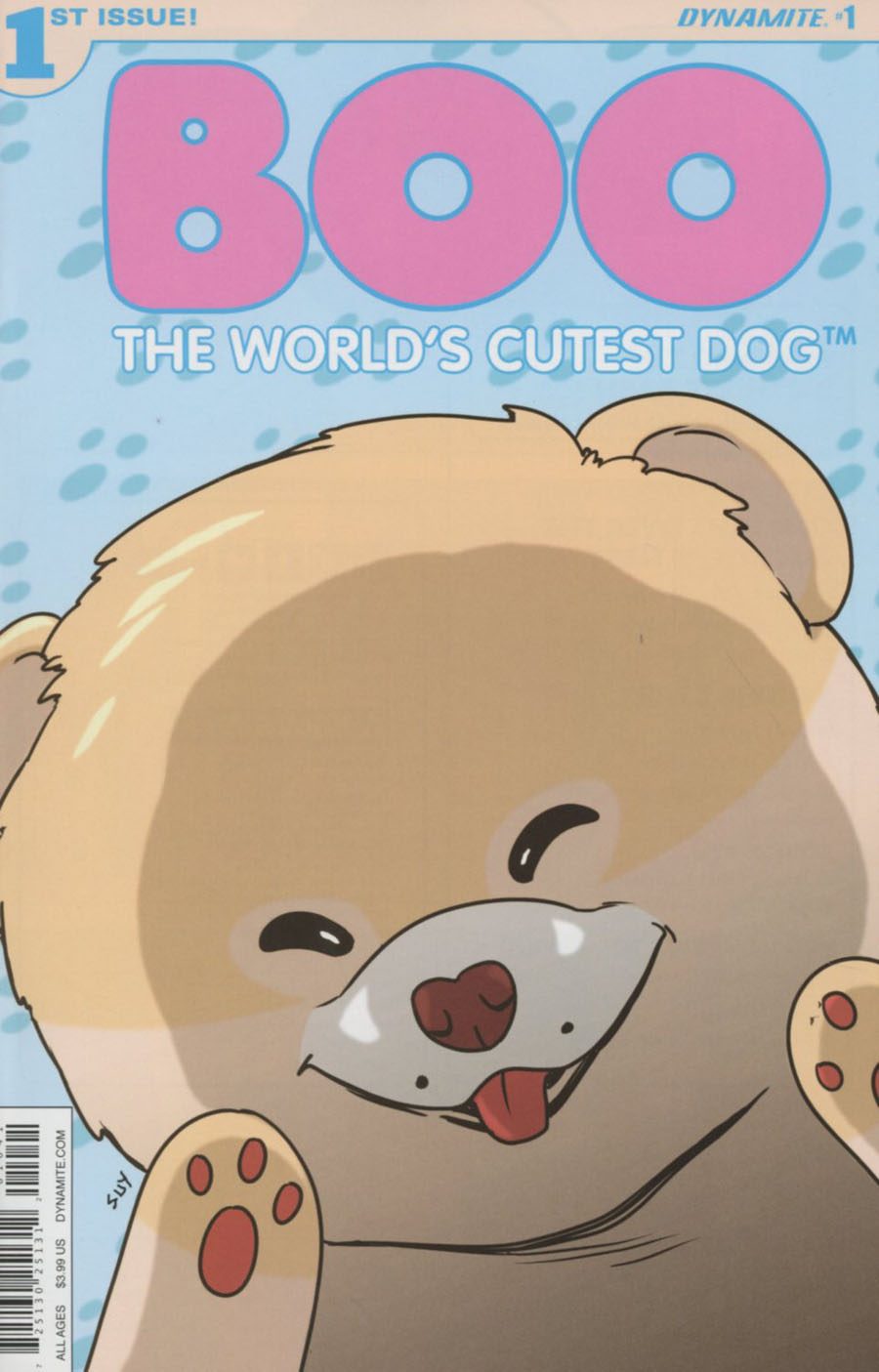 Boo Worlds Cutest Dog #1 Cover D Variant Steve Uy Cover