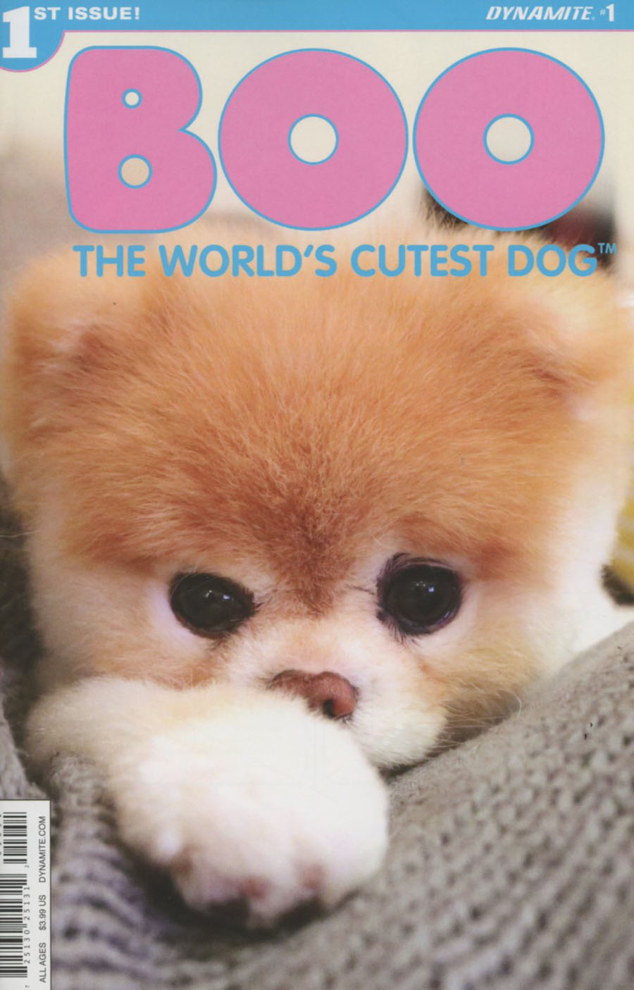 Boo Worlds Cutest Dog #1 Cover E Variant Photo Subscription Cover