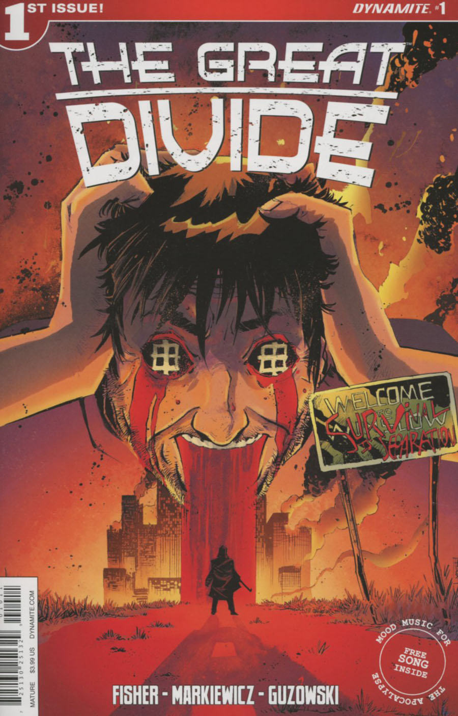 Great Divide #1 Cover A Regular Mike Henderson Cover