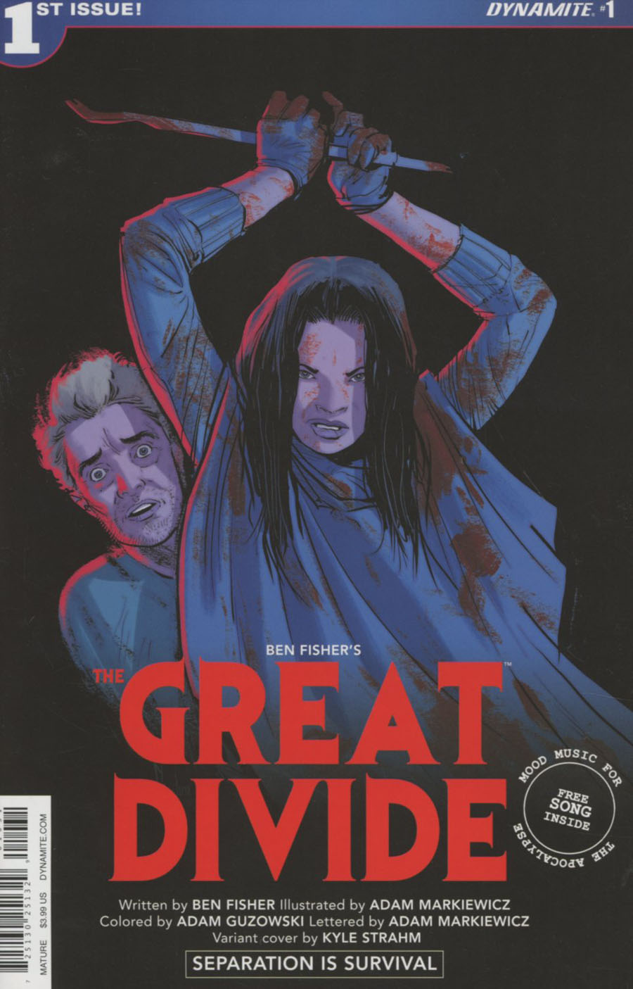 Great Divide #1 Cover C Variant Kyle Strahm Homage Cover