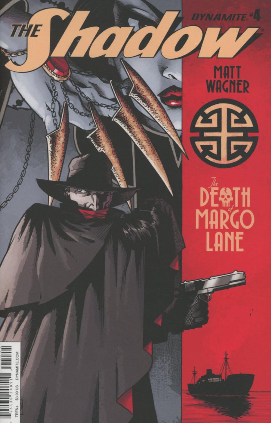 Shadow Death Of Margo Lane #4 Cover A Regular Matt Wagner Cover