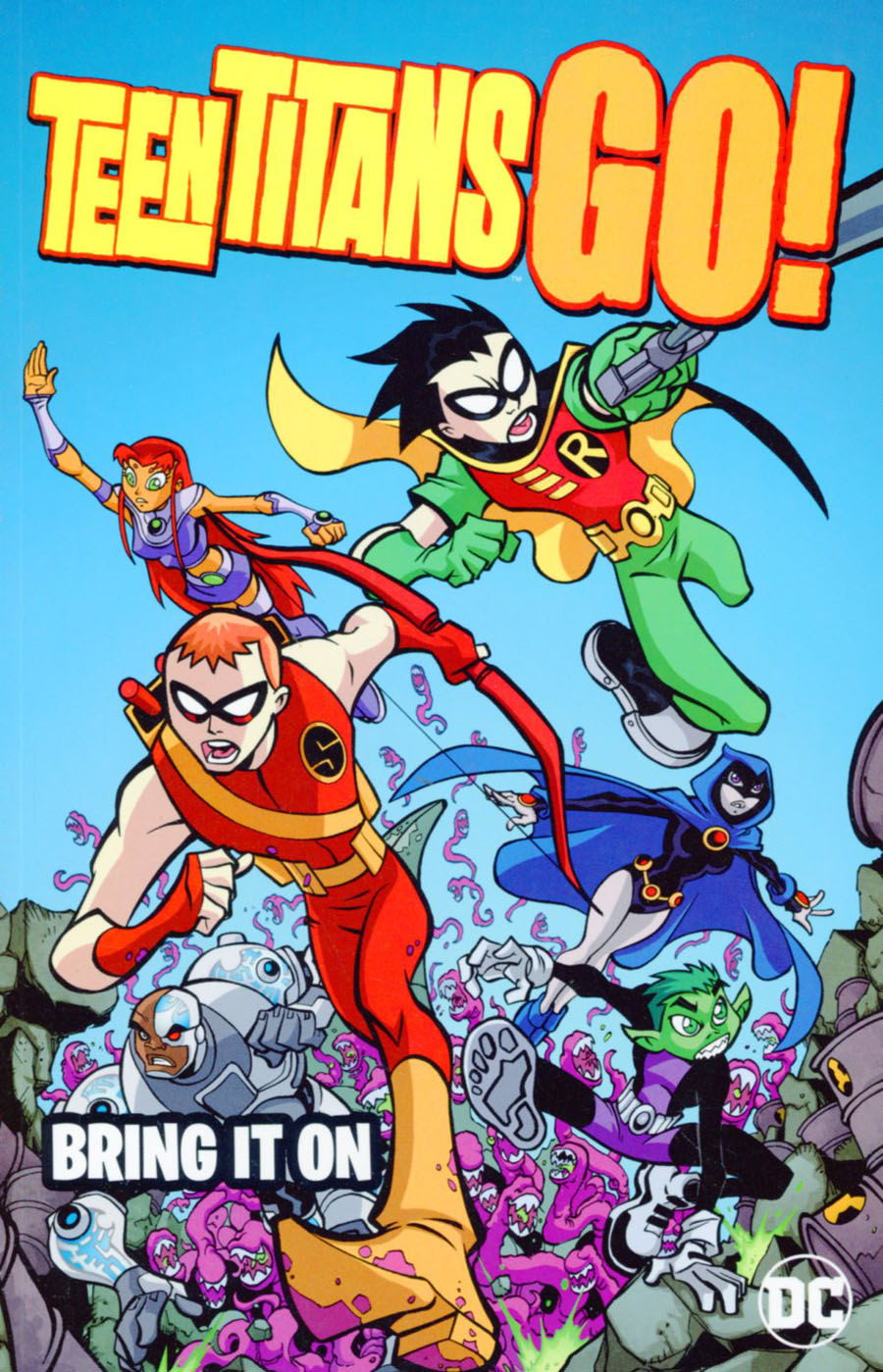 Teen Titans Go Bring It On TP New Edition