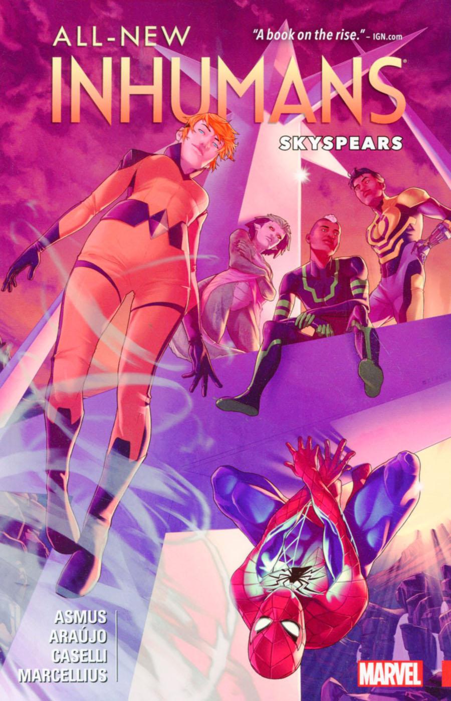 All-New Inhumans Vol 2 Skyspears TP