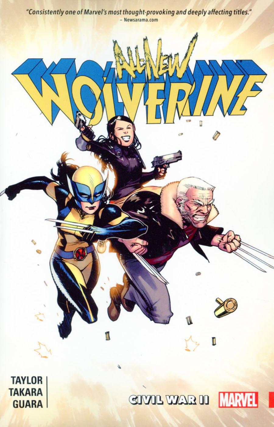 All-New Wolverine Vol 2 Civil War II TP