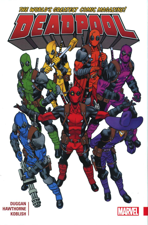 Deadpool Worlds Greatest Vol 1 HC