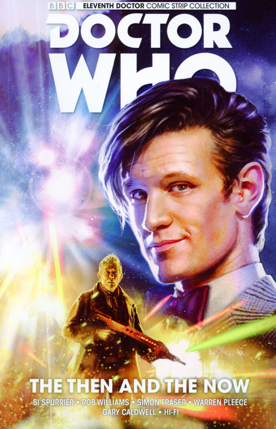 Doctor Who 11th Doctor Vol 4 The Then And The Now TP