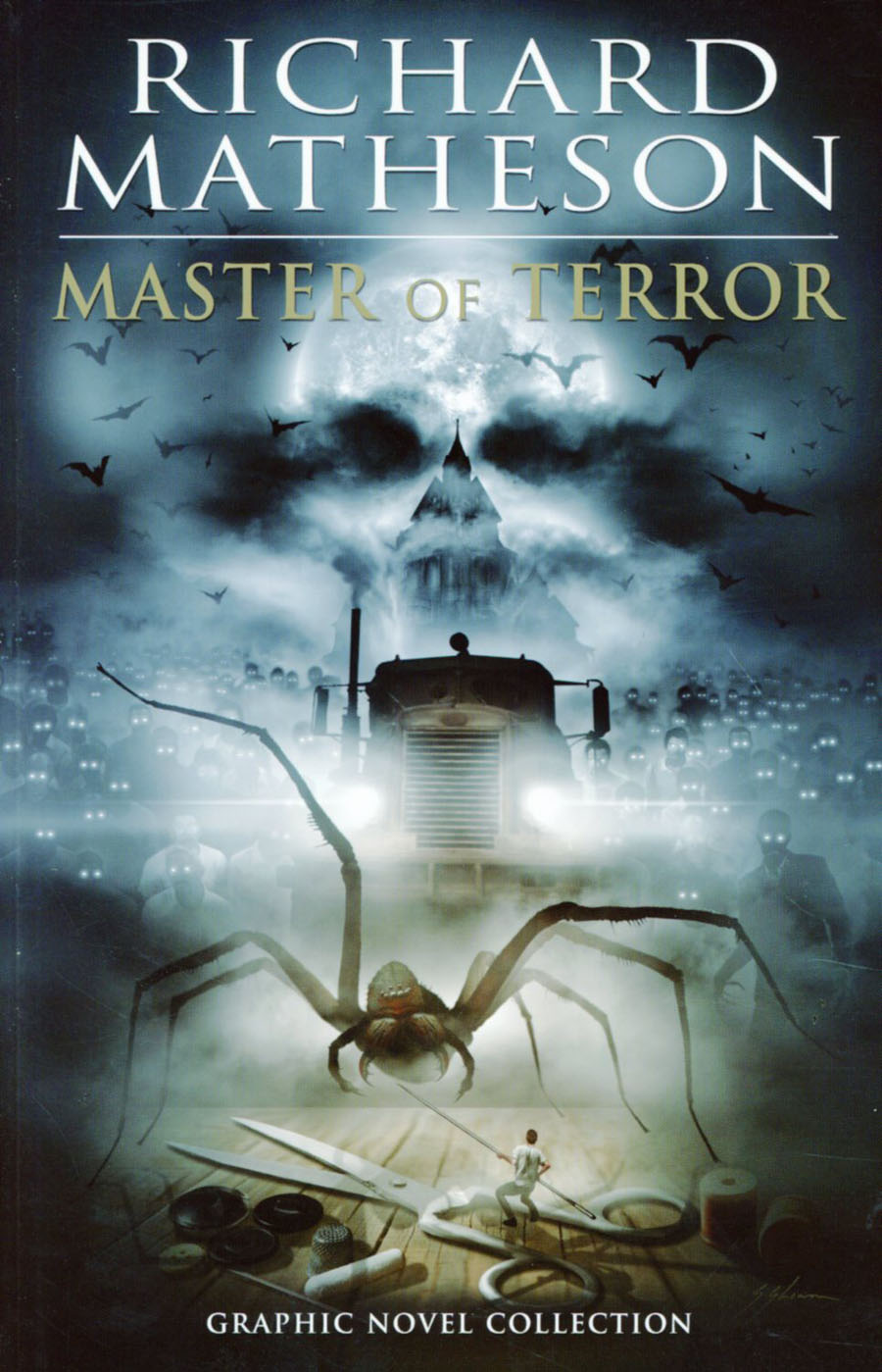 Richard Matheson Master Of Terror Graphic Novel Collection TP