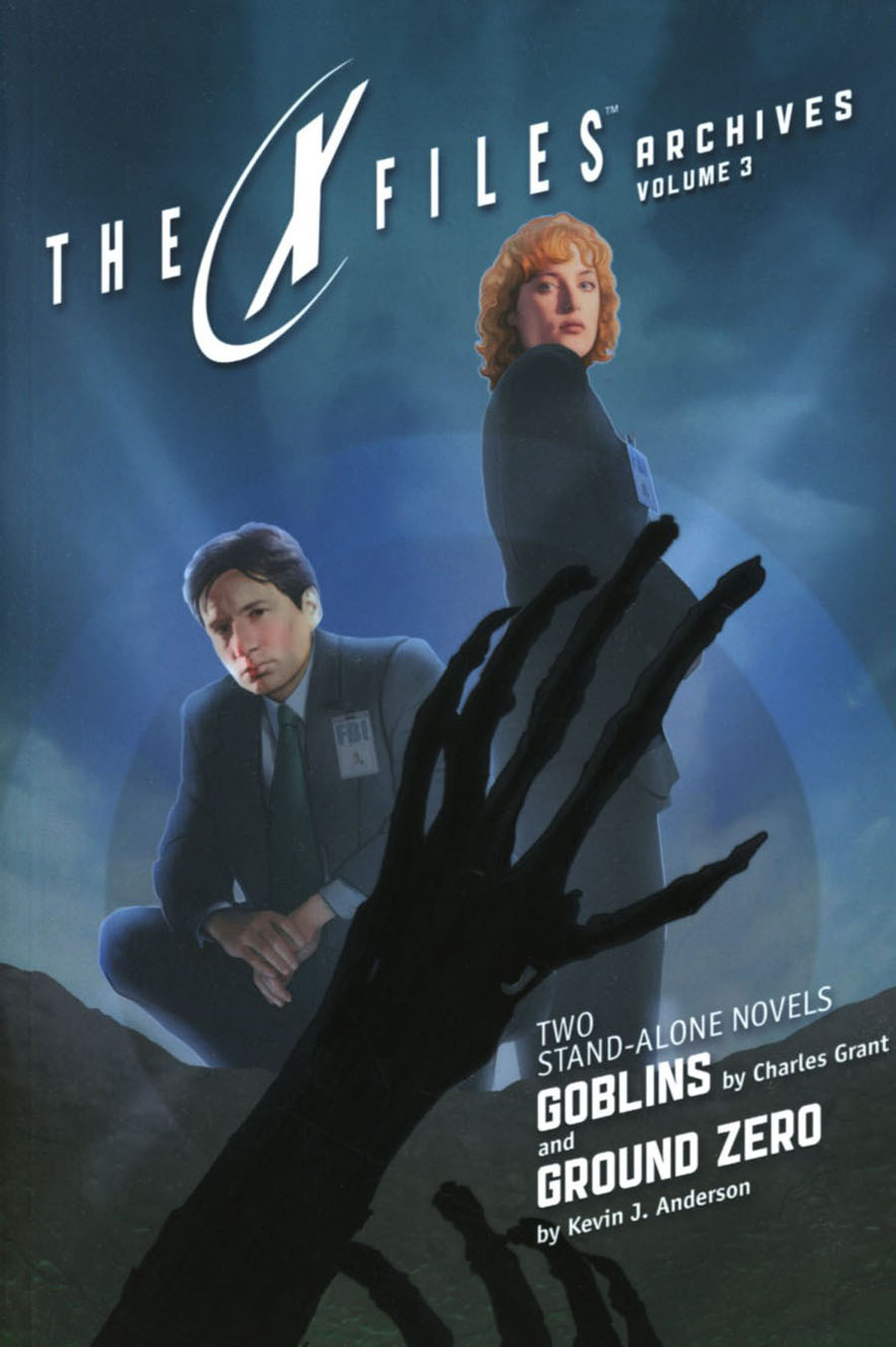 X-Files Archives Vol 3 Goblins & Ground Zero Prose Novel TP