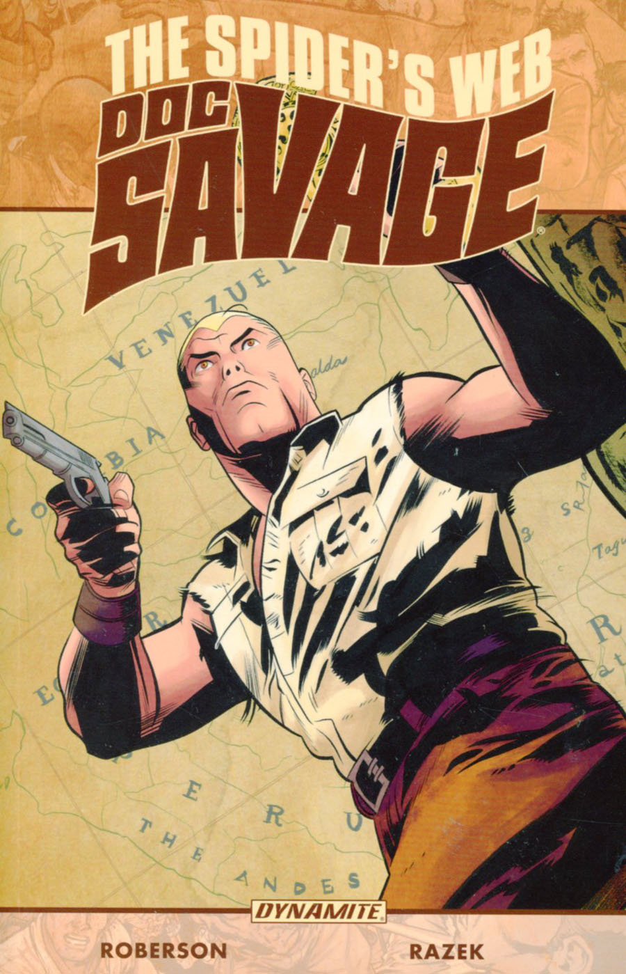 Doc Savage Spiders Web TP