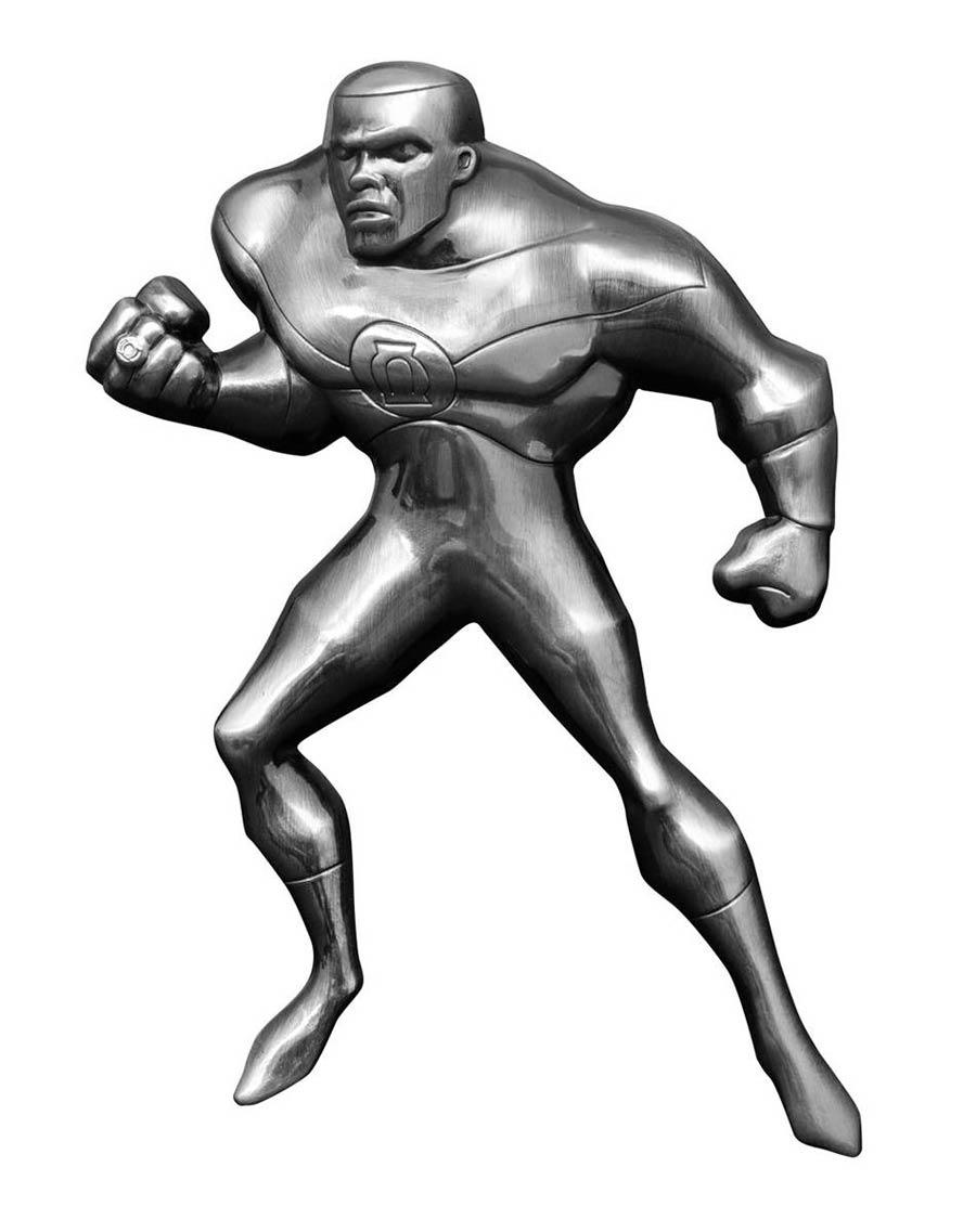 Justice League Unlimited Green Lantern Figural Metal Bottle Opener