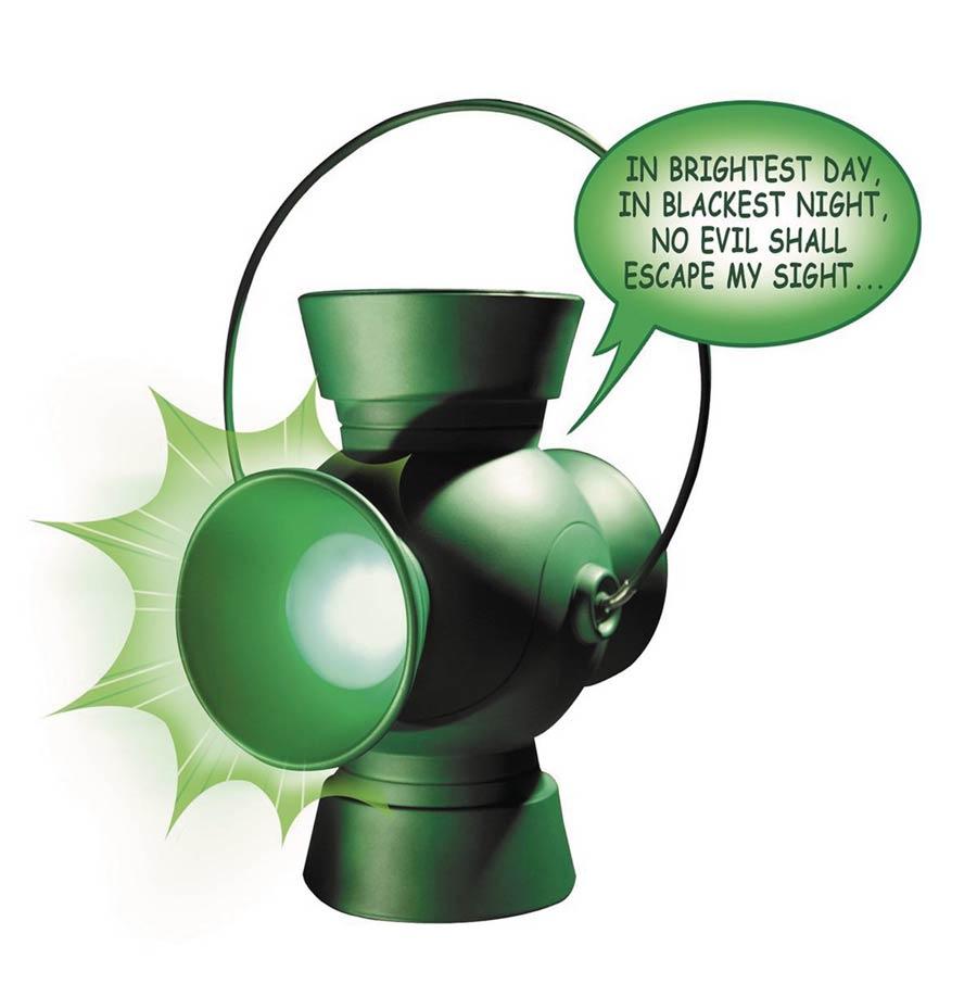 Green Lantern Power Battery Electronic Vinyl Bank