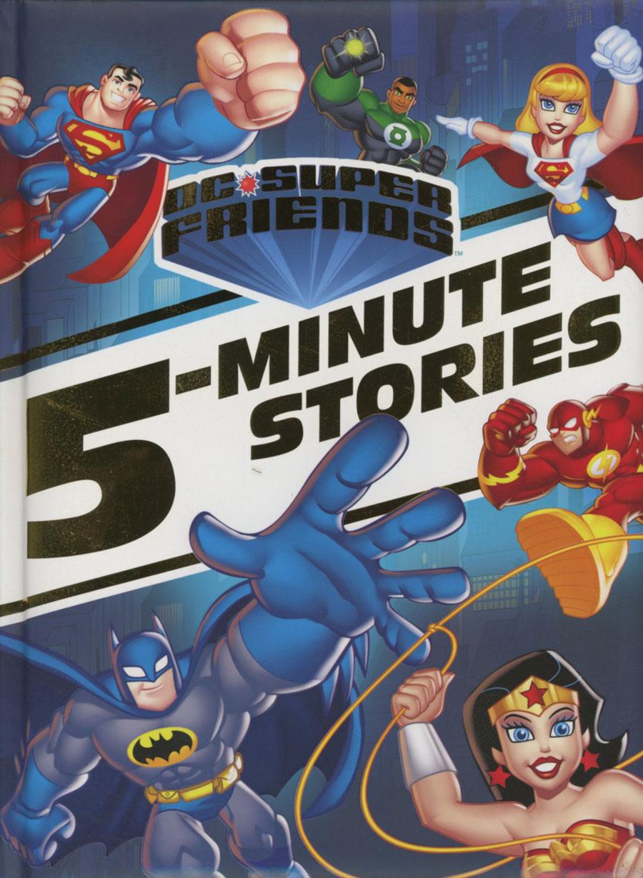 DC Super Friends 5-Minute Stories HC