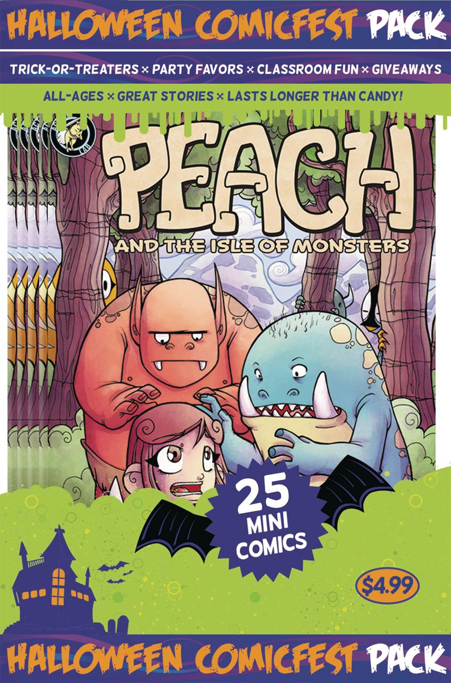 HCF 2016 Peach And The Isle Of Monsters Mini Comic Polypack (25-Copy Bundle)