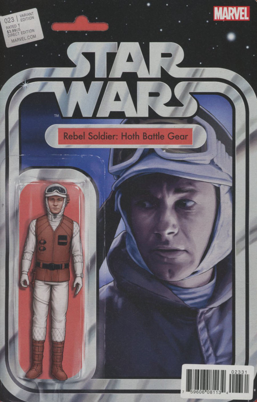 Star Wars Vol 4 #23 Cover B Variant John Tyler Christopher Action Figure Cover