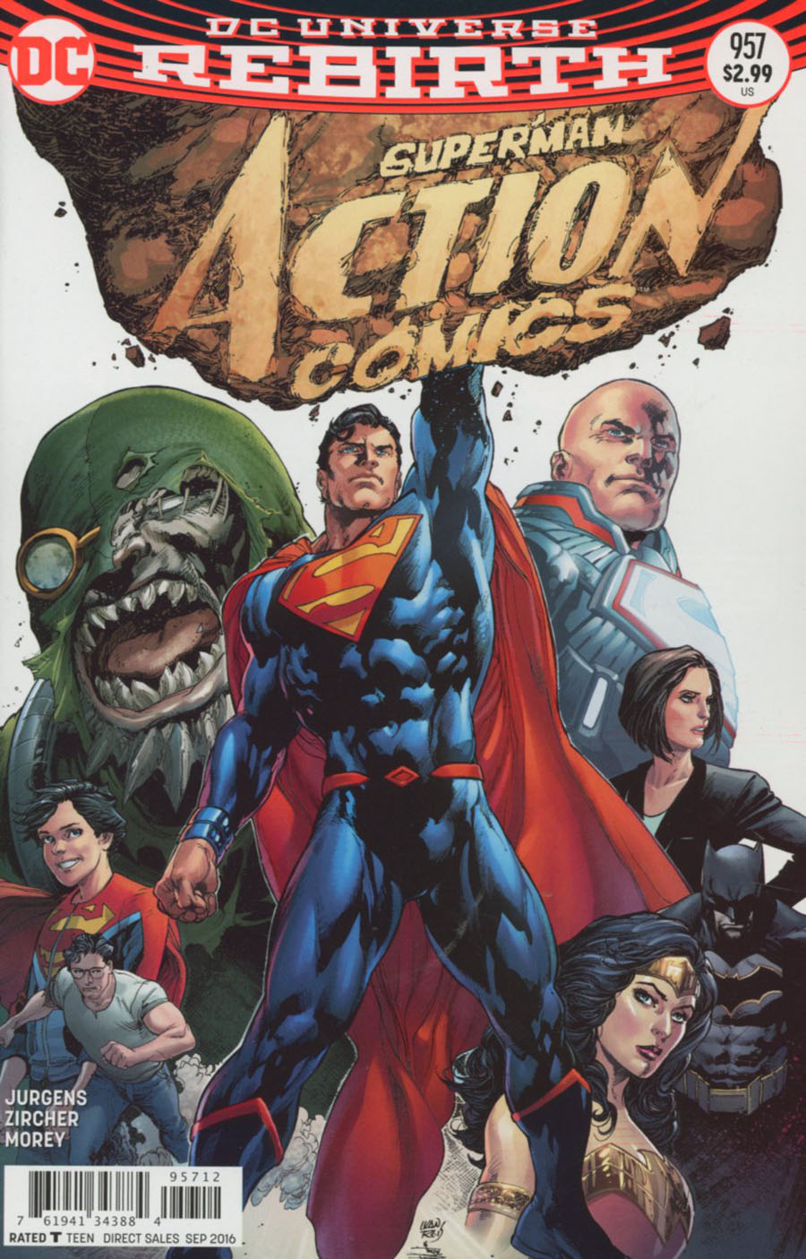 Action Comics Vol 2 #957 Cover D 2nd Ptg Ivan Reis Variant Cover