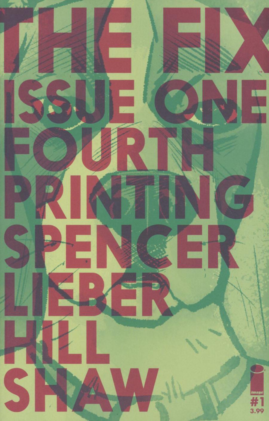 Fix #1 Cover D 4th Ptg Steve Lieber Variant Cover